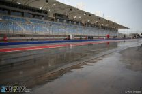 Lack of wet weather tyres limited teams' running in Bahrain