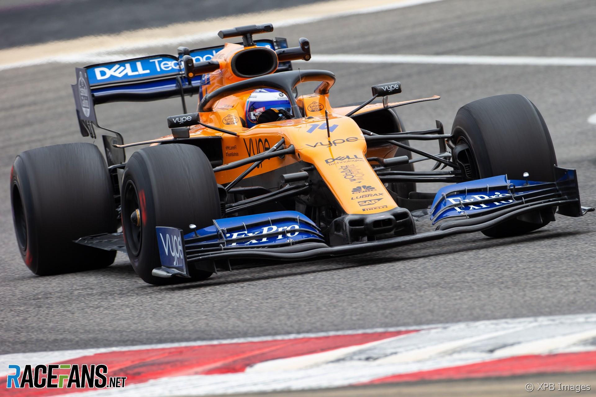 Fernando Alonso, McLaren, Bahrain International Circuit
