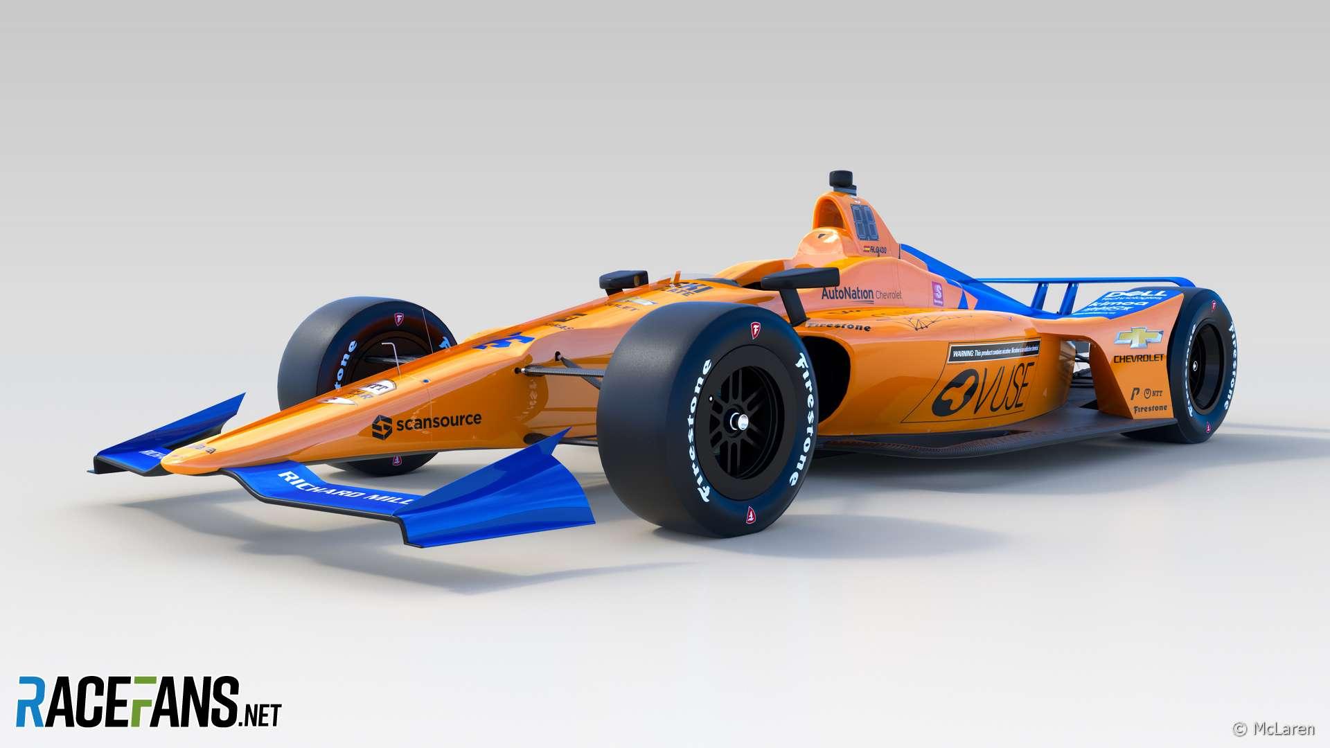 McLaren IndyCar, 2019
