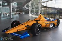 McLaren reveal Alonso's car for Indy 500