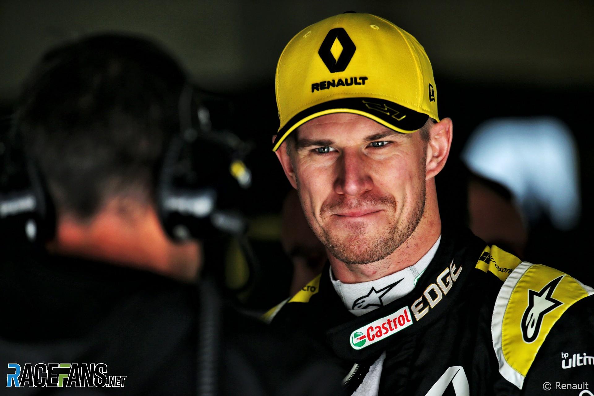 Nico Hulkenberg, Renault, Shanghai International Circuit, 2019