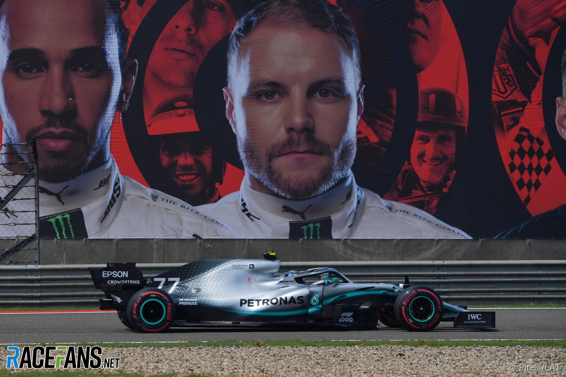 Valtteri Bottas, Mercedes, Shanghai International Circuit, 2019