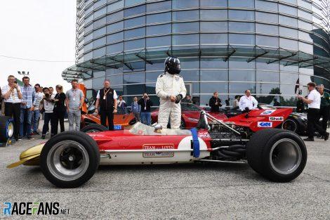 Damon Hill, Lotus 49, Shanghai International Circuit