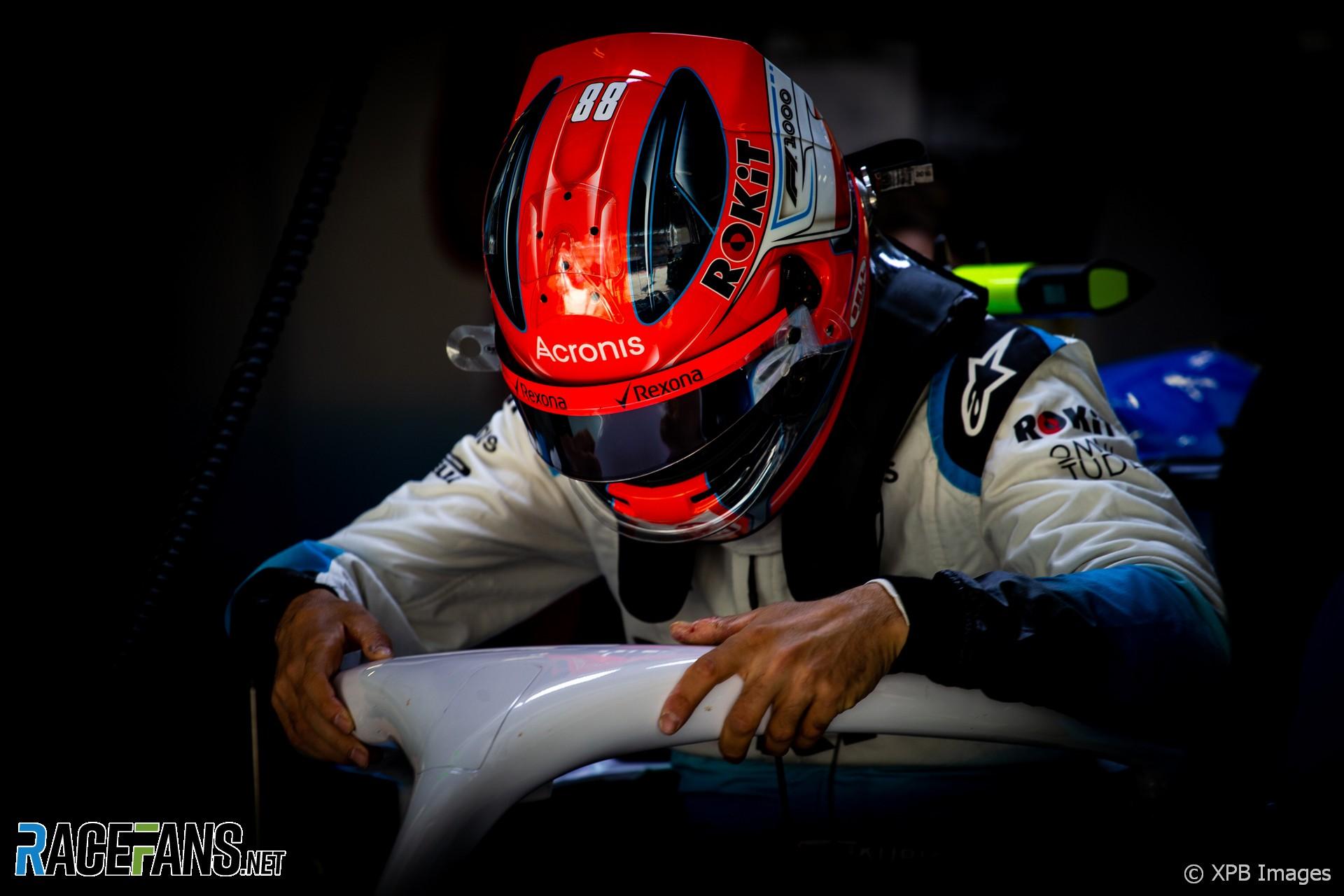 Robert Kubica, Williams, Shanghai International Circuit, 2019