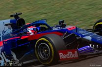 """Kvyat and Tost disagree with penalty for """"lap one sandwich"""""""