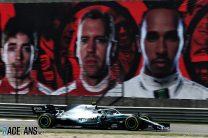 Bottas stays ahead as Albon crash ends session