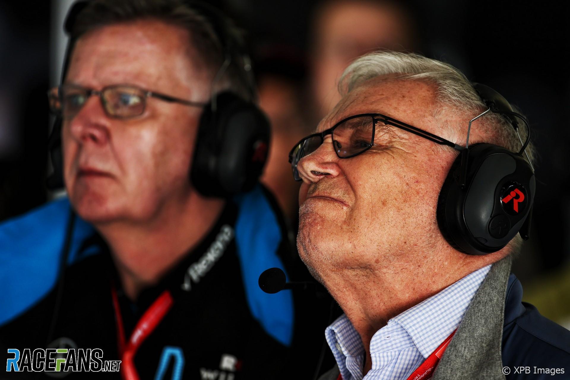 Patrick Head, Williams, Shanghai International Circuit, 2019