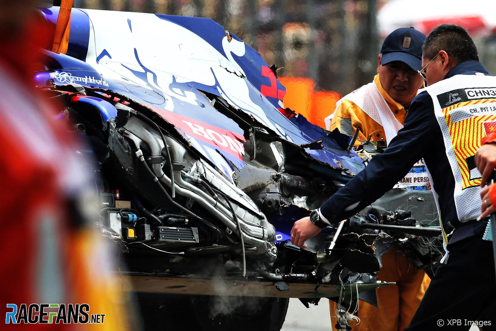 Alexander Albon, Toro Rosso, Shanghai International Circuit, 2019