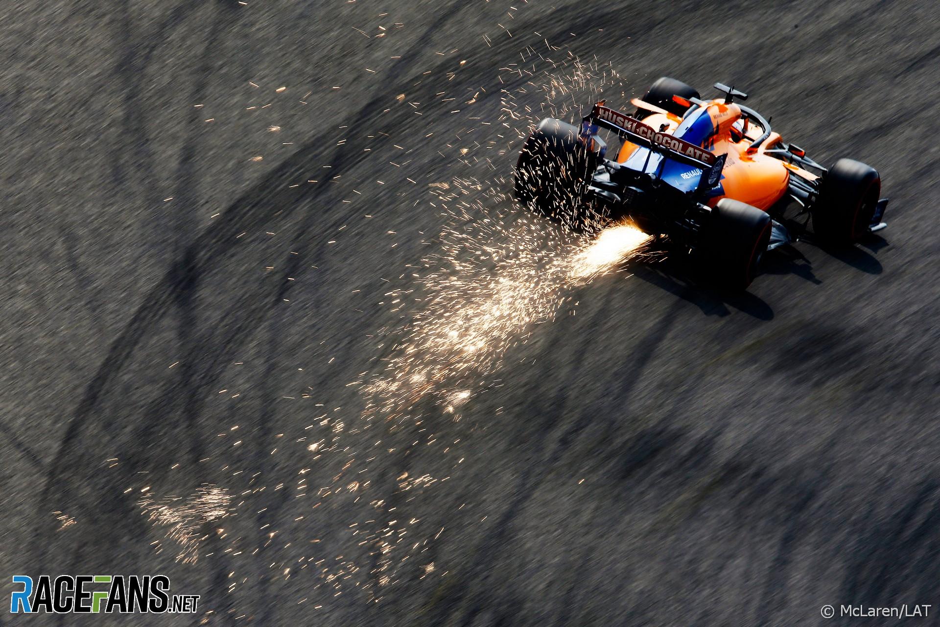 Carlos Sainz Jnr, McLaren, Shanghai International Circuit, 2019