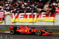 Ferrari are 0.7 seconds slower than last year in China