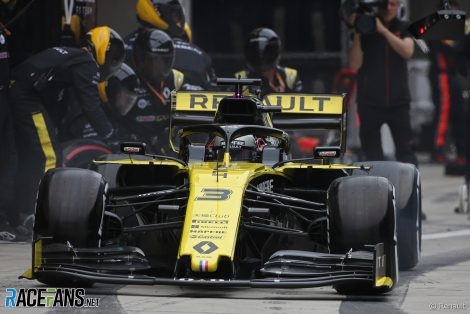 Daniel Ricciardo, Renault, Shanghai International Circuit, 2019