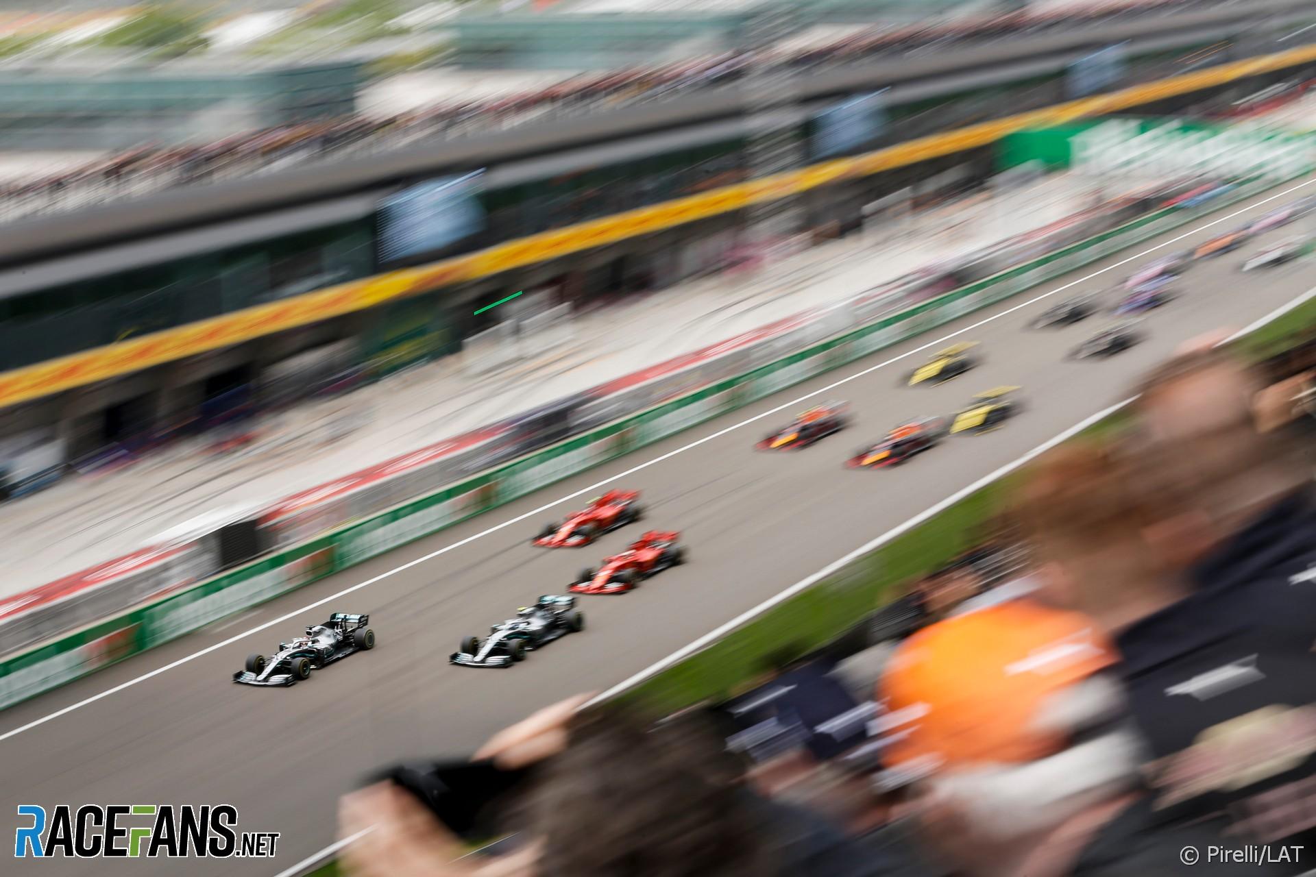 Start, Shanghai International Circuit, 2019