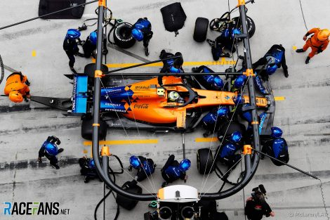 Lando Norris, McLaren, Shanghai International Circuit, 2019