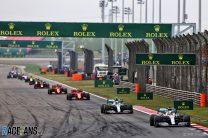 2019 Chinese Grand Prix championship points