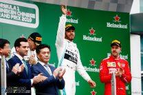 Lewis Hamilton, Mercedes, Shanghai International Circuit, 2019
