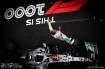 Hamilton and Mercedes dominate 1,000th world championship race