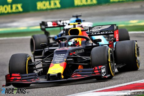 Pierre Gasly, Red Bull, Shanghai International Circuit, 2019