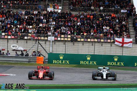 Valtteri Bottas, Charles Leclerc, Shanghai International Circuit, 2019