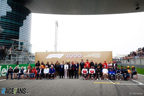 1000th race photograph, Mercedes, Shanghai International Circuit, 2019