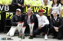 Third consecutive one-two gives Mercedes chance to break record