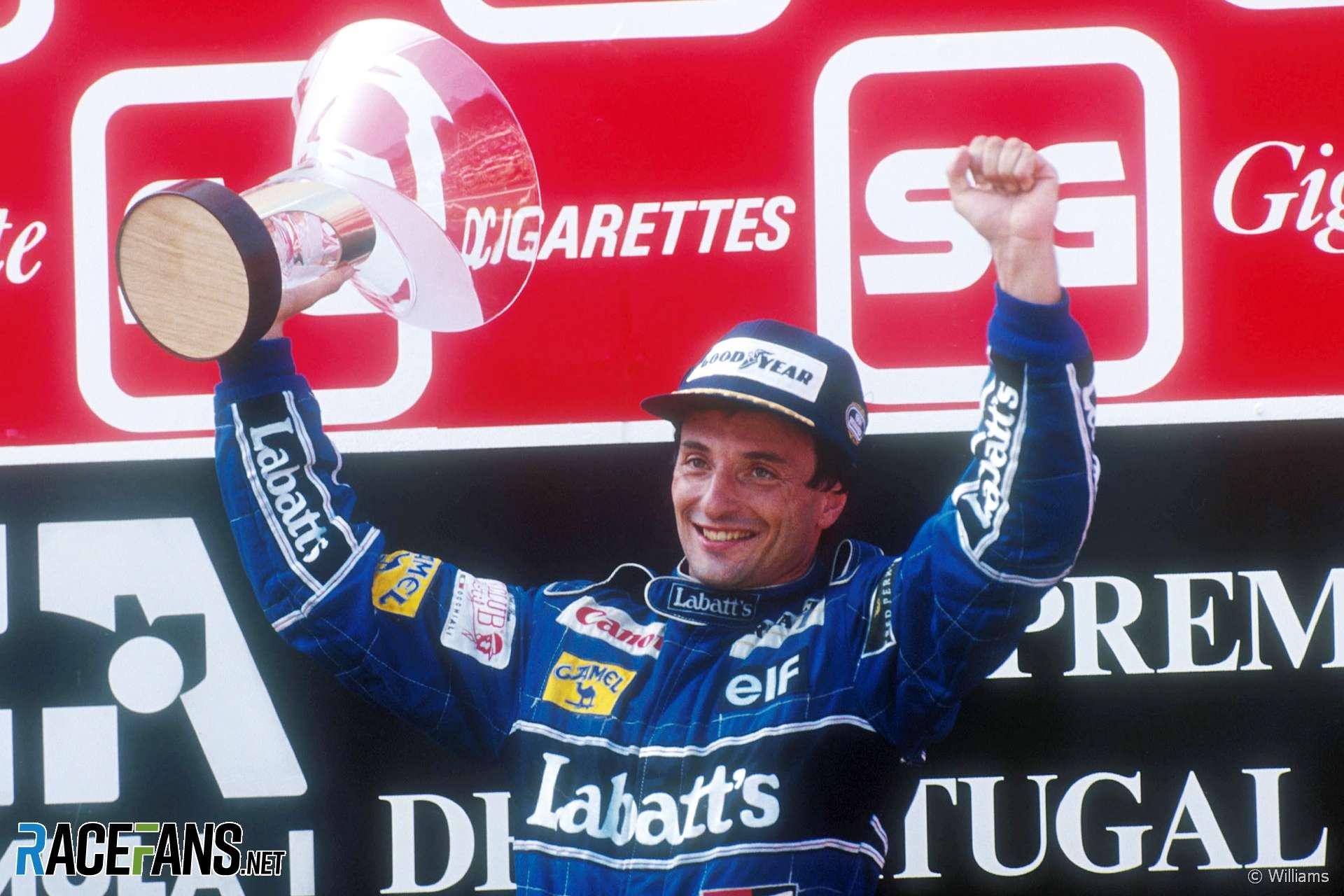 Ricciardo Patrese, Williams, Estoril, 1991