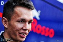 "Albon admits F1 felt ""daunting"" at first"