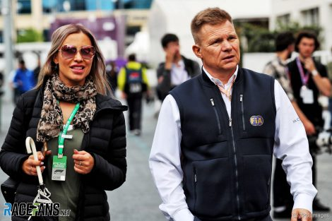Mika Salo, Baku City Circuit, 2019