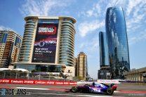 Alexander Albon, Toro Rosso, Baku City Circuit, 2019