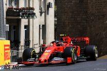 Charles Leclerc, Ferrari, Baku City Circuit, 2019