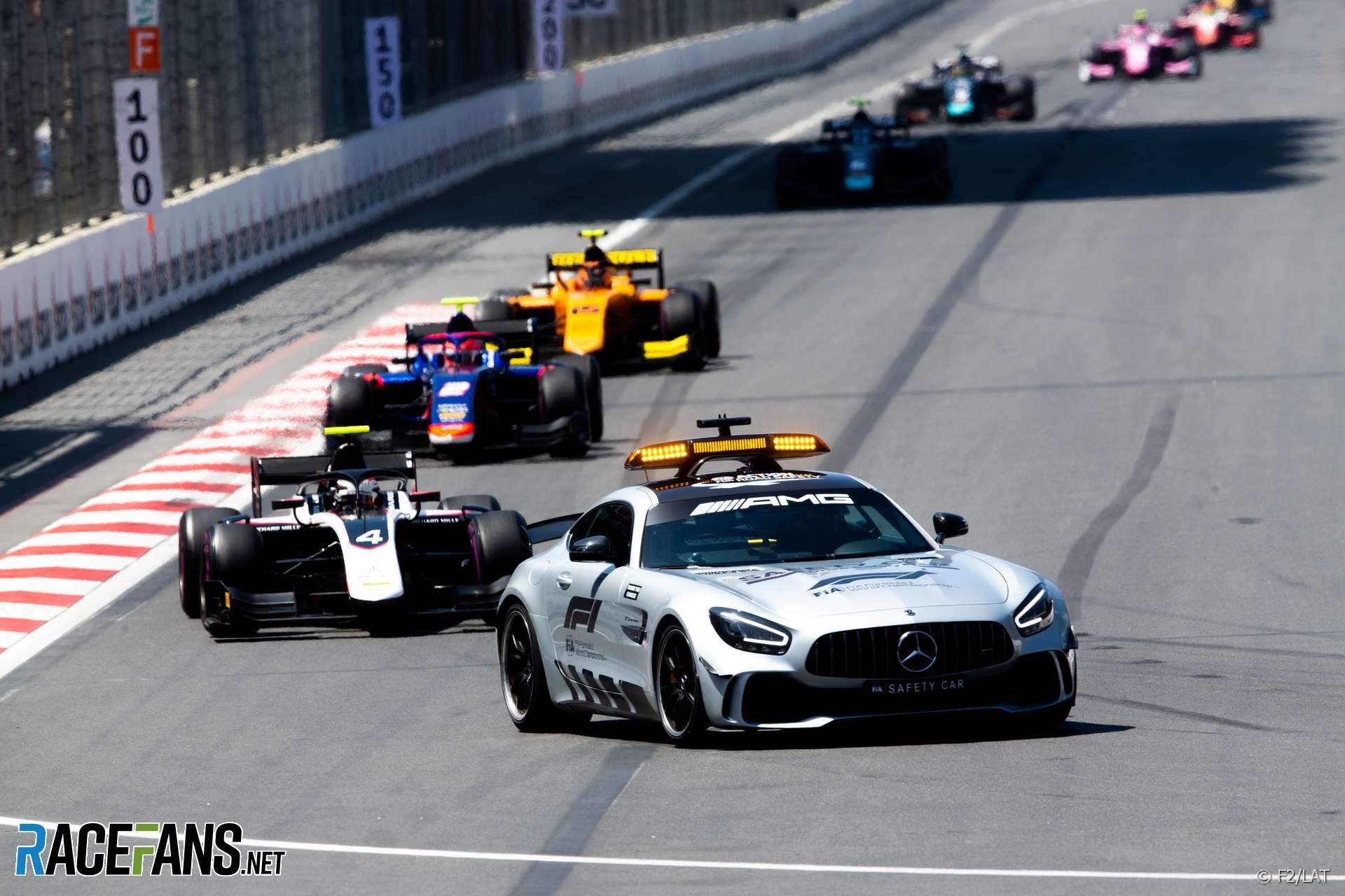 Safety Car, Baku, Formula Two, 2019