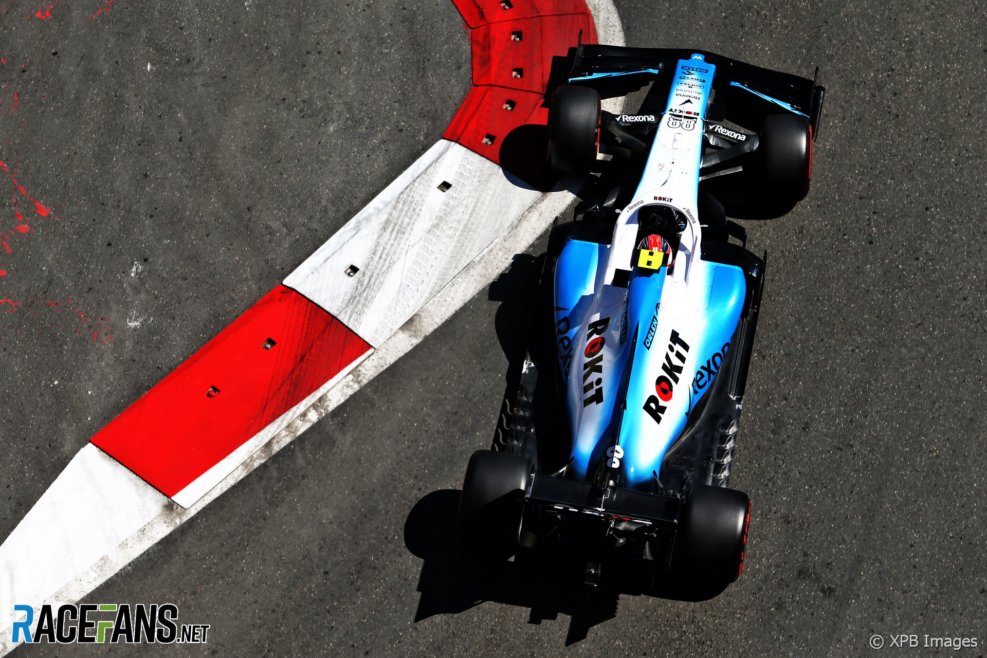 Robert Kubica, Williams, Baku City Circuit, 2019