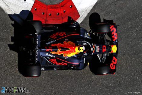 Max Verstappen, Red Bull, Baku City Circuit, 2019