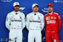 Bottas leads Mercedes sweep of Baku front row after Leclerc crashes