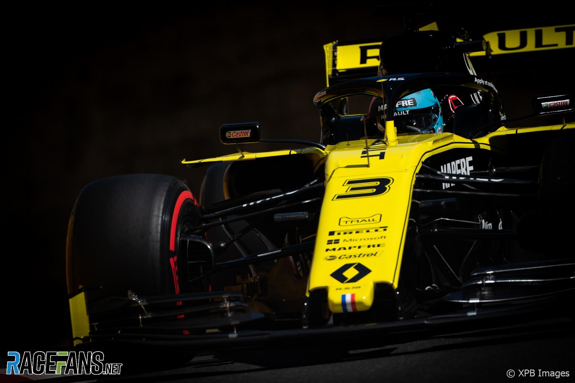 Daniel Ricciardo, Renault, Baku City Circuit, 2019