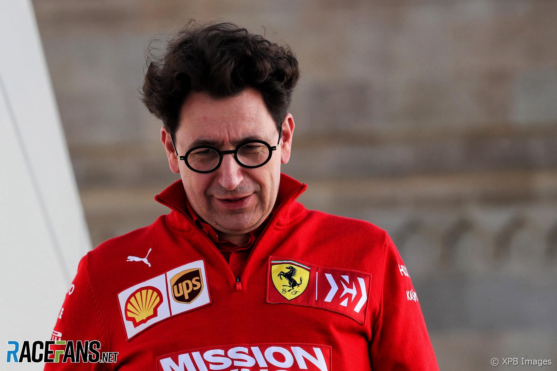 Mattia Binotto, Ferrari, Baku City Circuit, 2019