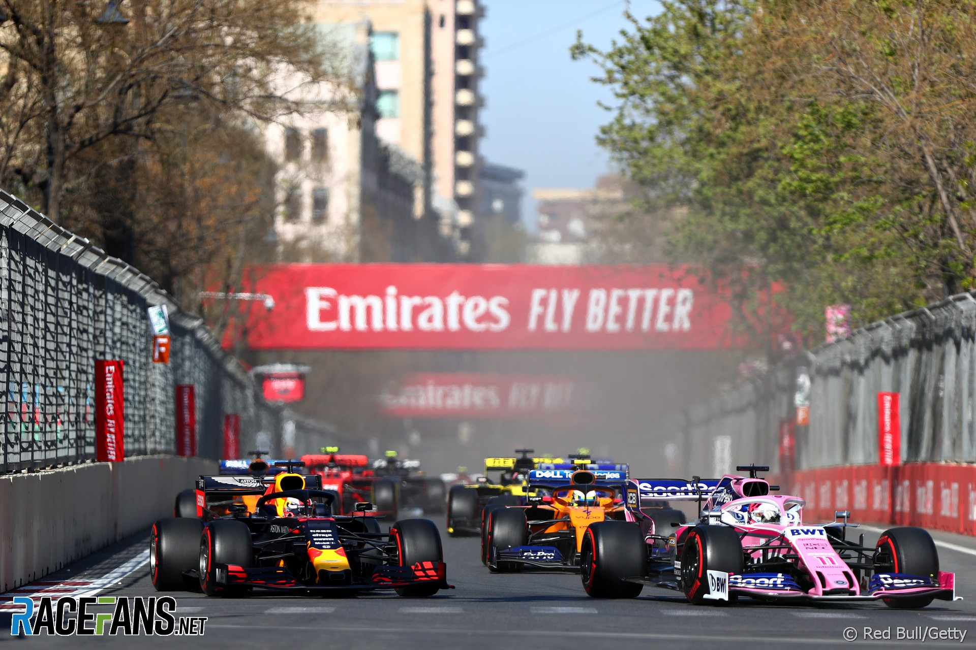 Start, Baku City Circuit, 2019