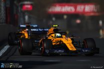 Norris defends McLaren strategy after losing place to Sainz