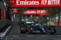 2019 Azerbaijan Grand Prix race result