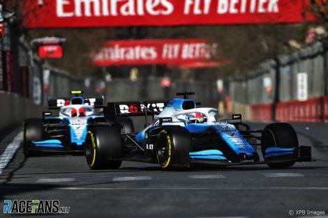 George Russell, Williams, Baku City Circuit, 2019