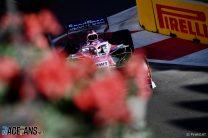 Sergio Perez, Racing Point, Baku City Circuit, 2019