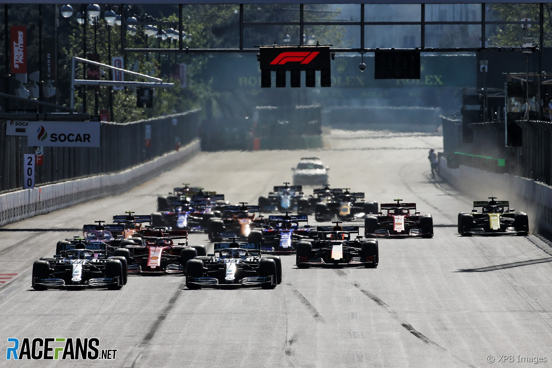 F1 TV Pro users offered refunds as faults spoil Baku