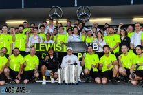 Mercedes start season with record-breaking fourth consecutive one-two