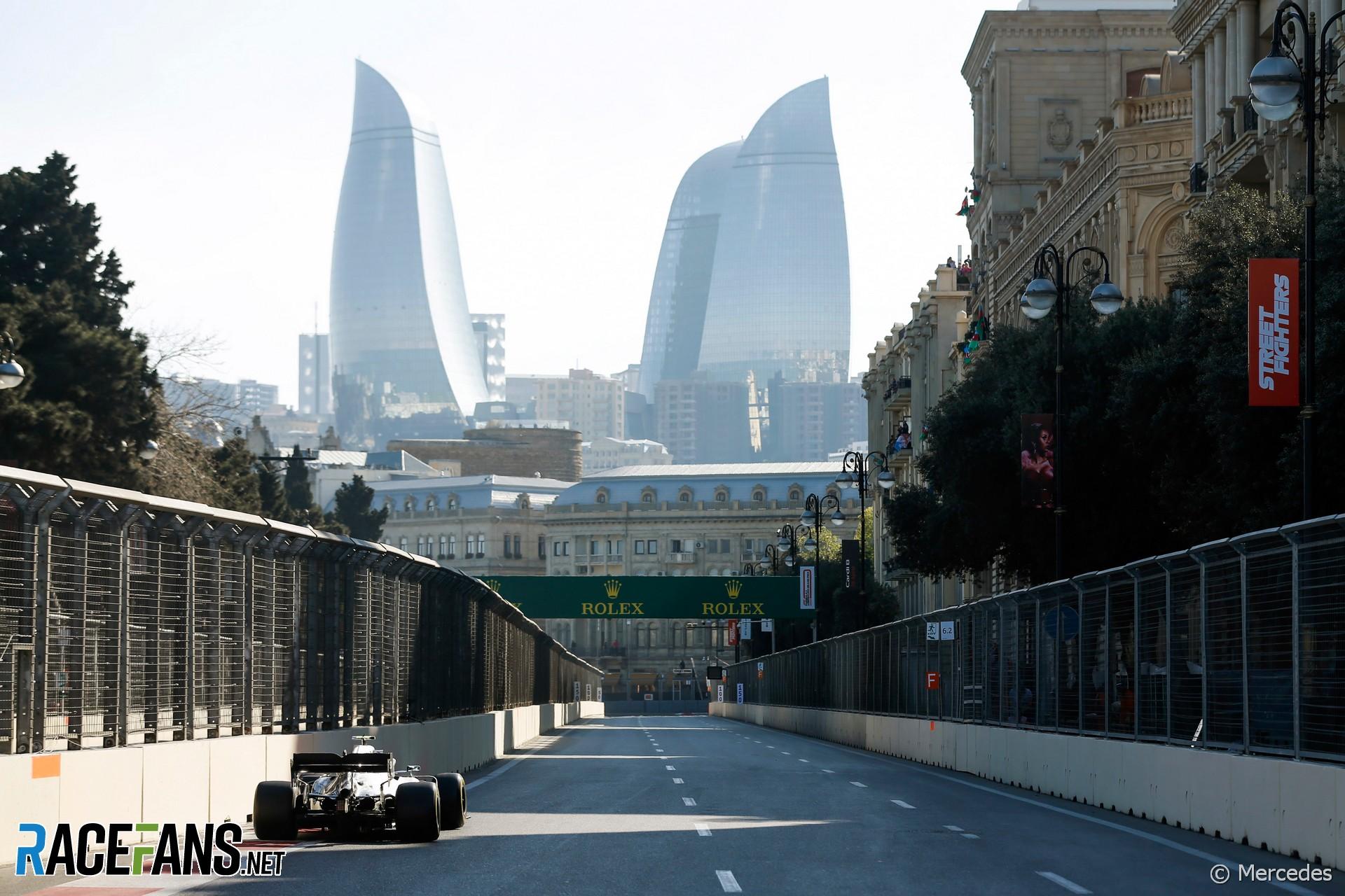 Mercedes, Baku City Circuit, 2019