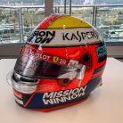 Charles Leclerc 2019 Monaco Grand Prix helmet