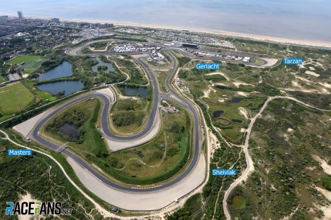 "No asphalt run-off at Zandvoort: F1 wants ""heritage"" gravel traps to stay"