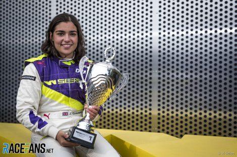 Jamie Chadwick, W Series, Hockenheimring, 2019