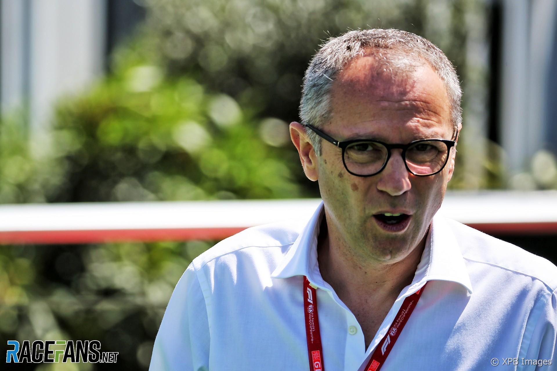 Stefano Domenicali, Circuit de Catalunya, 2019
