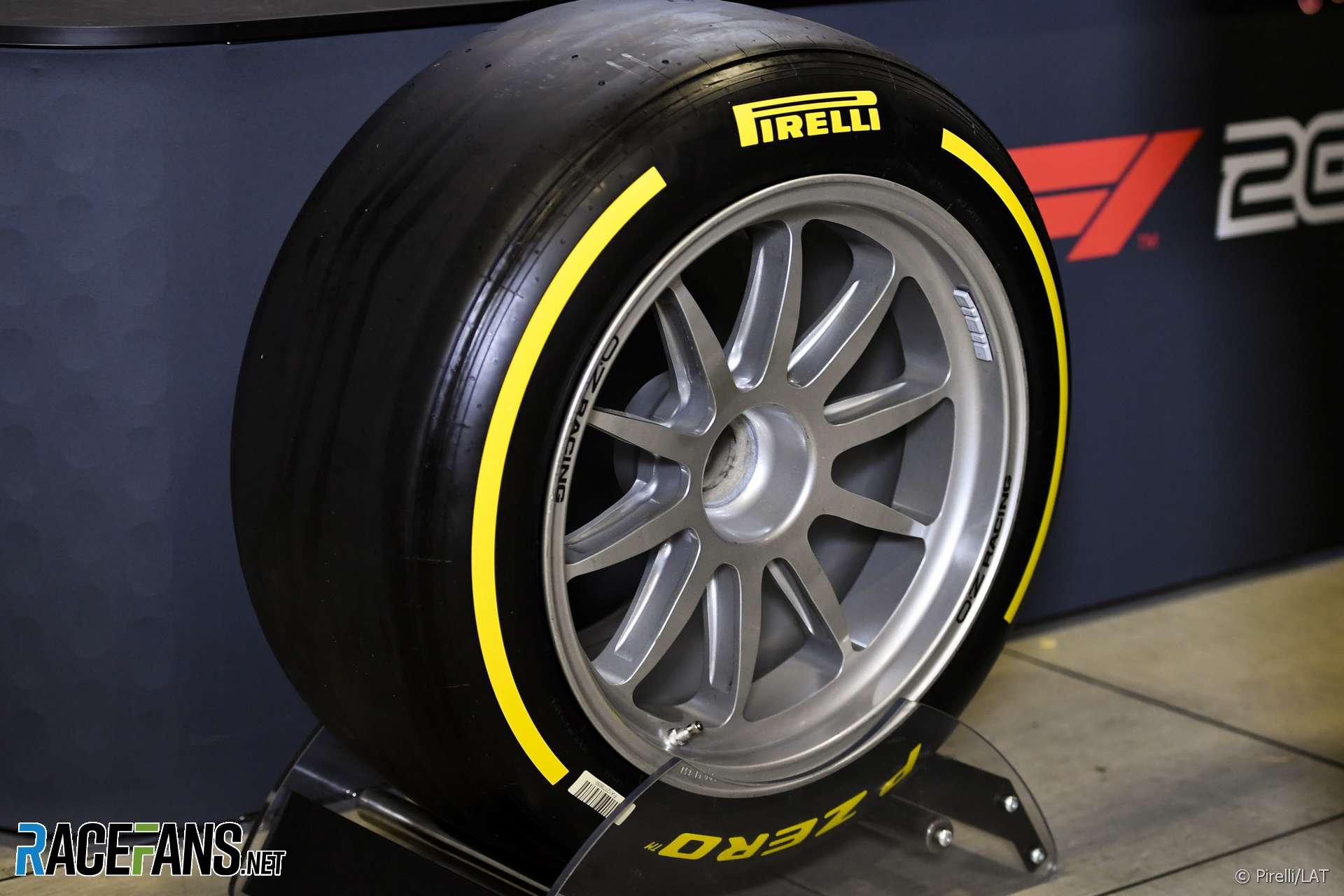 18-inch F2 tyre, Circuit de Catalunya, 2019