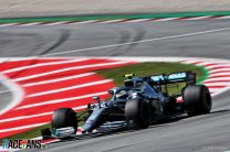 Bottas denies Hamilton by six-tenths to take third pole position in a row