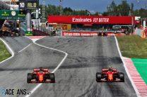 Sebastian Vettel, Charles Leclerc, Ferrari, Circuit de Catalunya, 2019